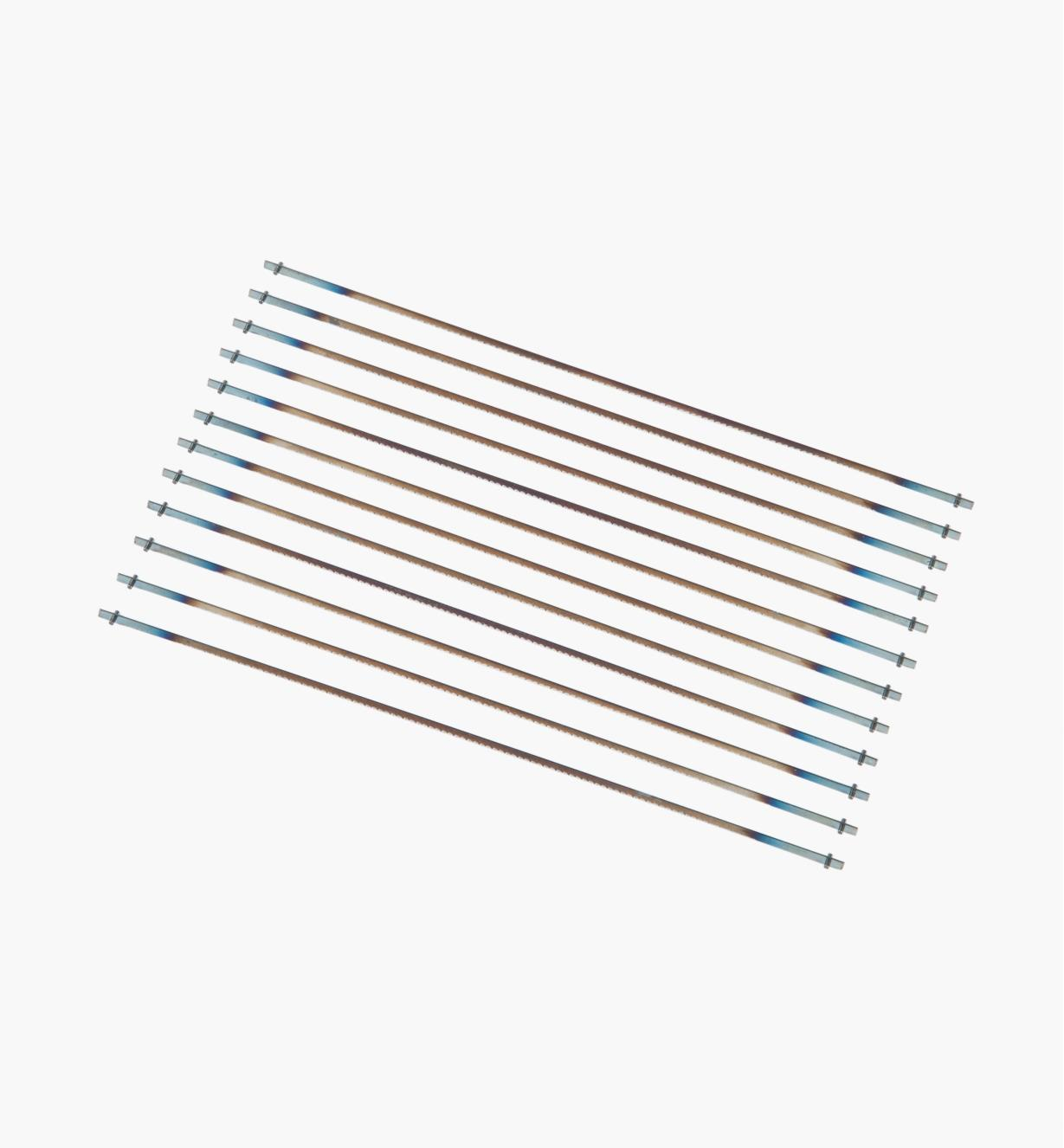 02T1083 - 18tpi Skip-Tooth Pégas Coping Saw Blades, pkg. of 12