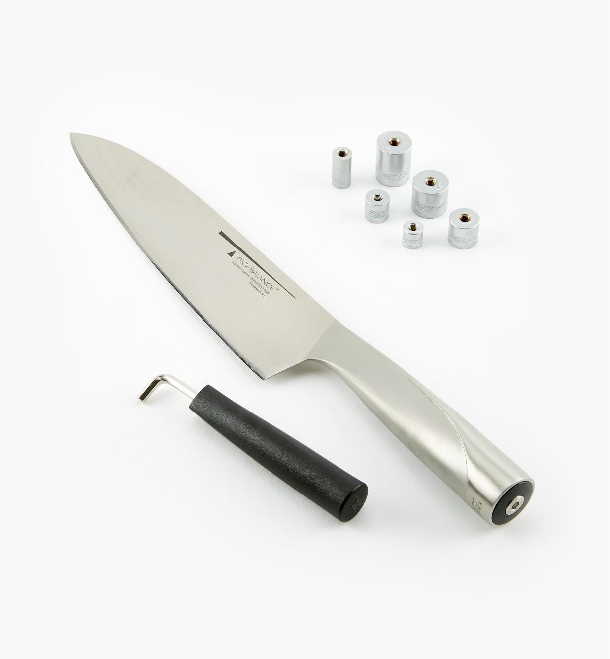 """45K3757 - 8"""" Pro-Balance Chef's Knife"""
