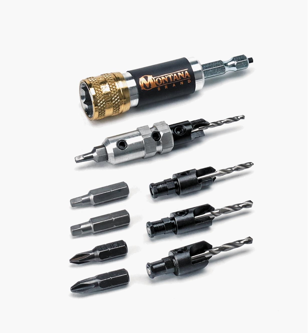 50J0360 - Drill/Countersink Set