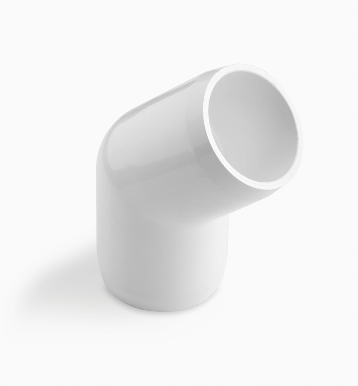 """EA265 - 1/2"""" 45° Elbow PVC Connector, each"""