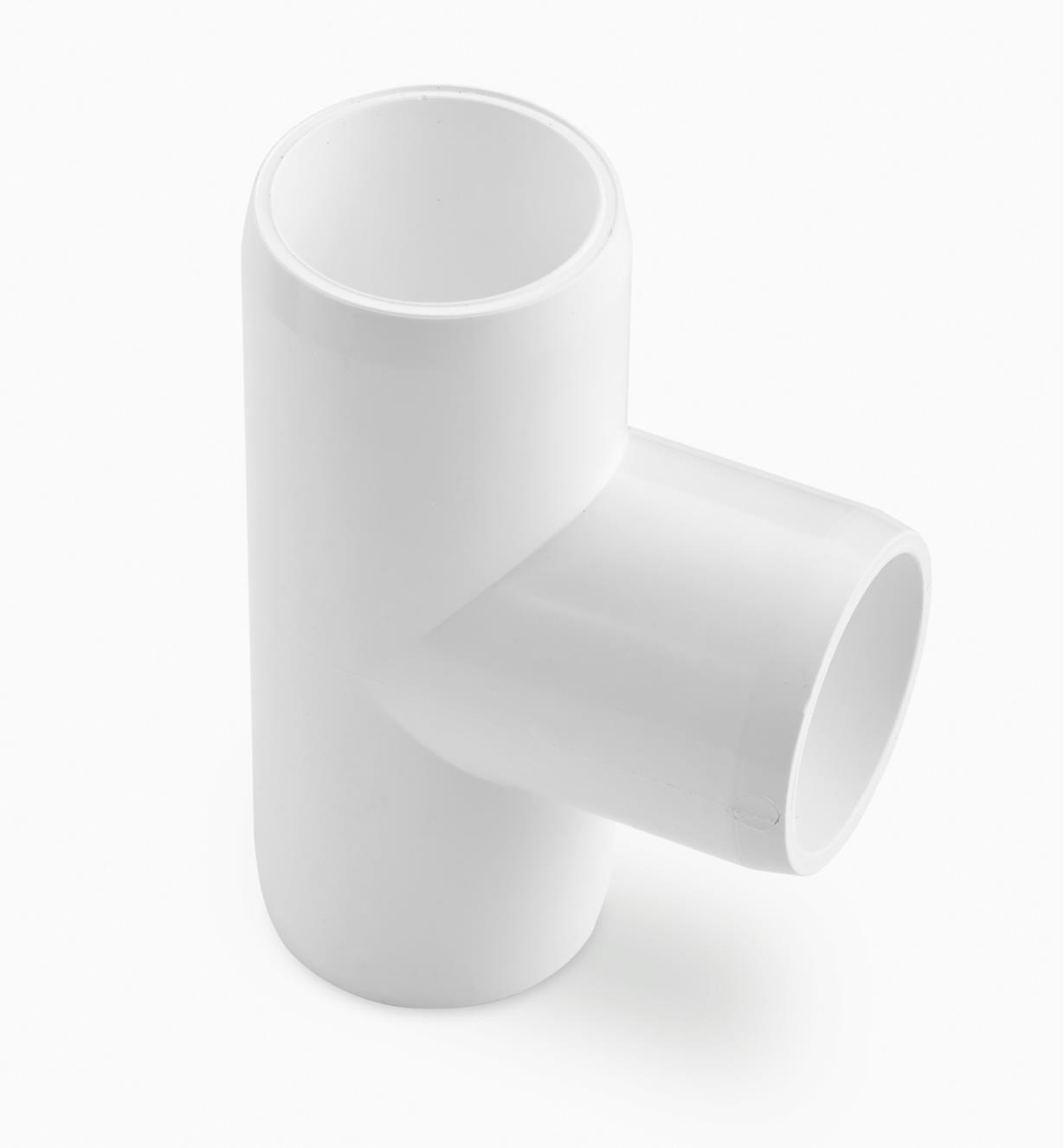 """EA268 - 1/2"""" 3-Way T PVC Connector, each"""