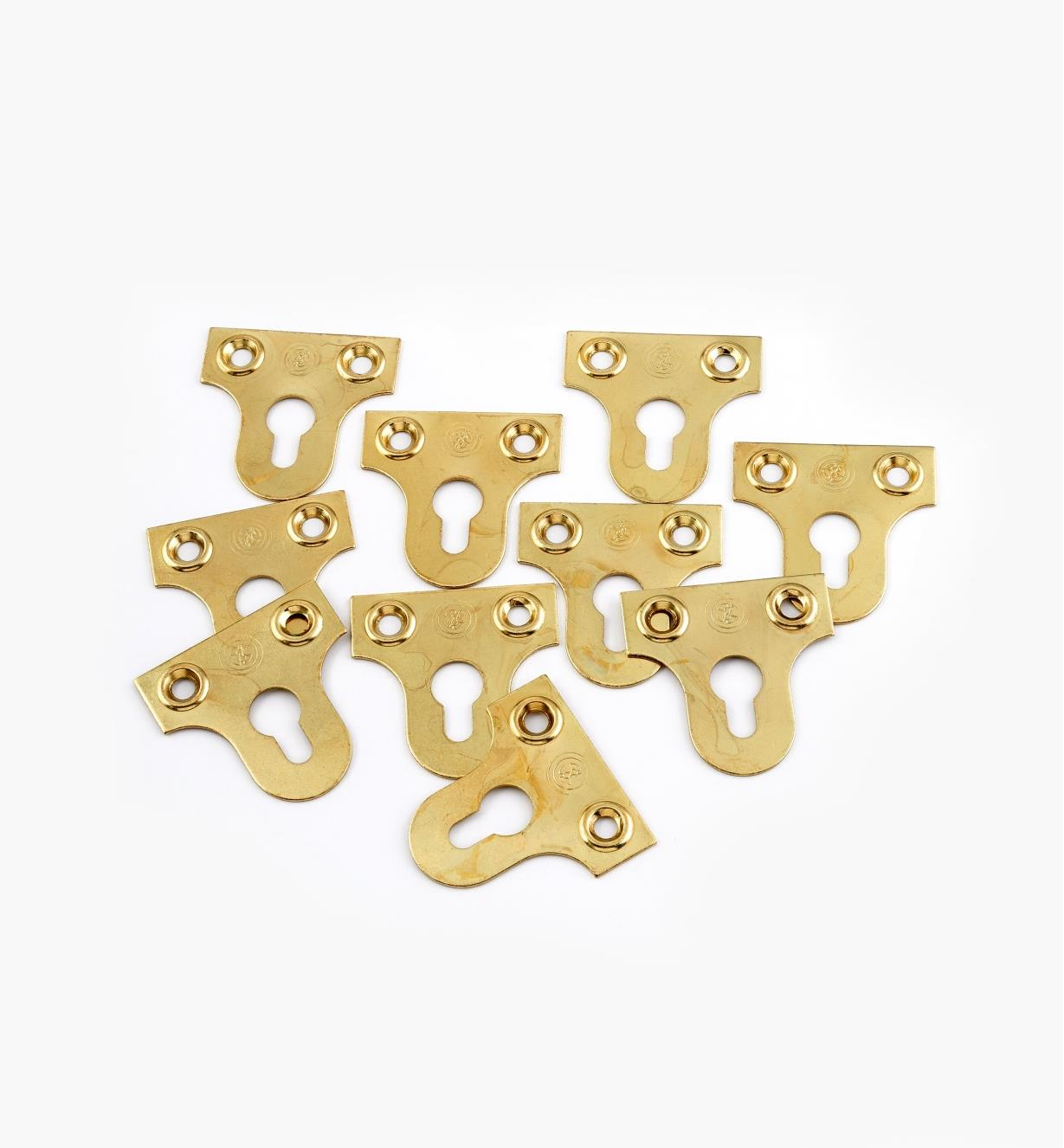 00S0620 - Lg. Rigid Hangers, pkg. of 10