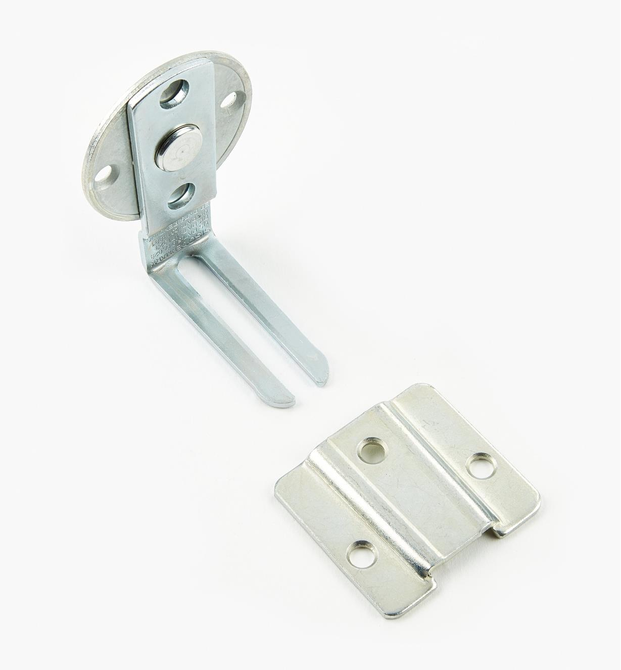 00U1102 - 90° Panel Connector Set