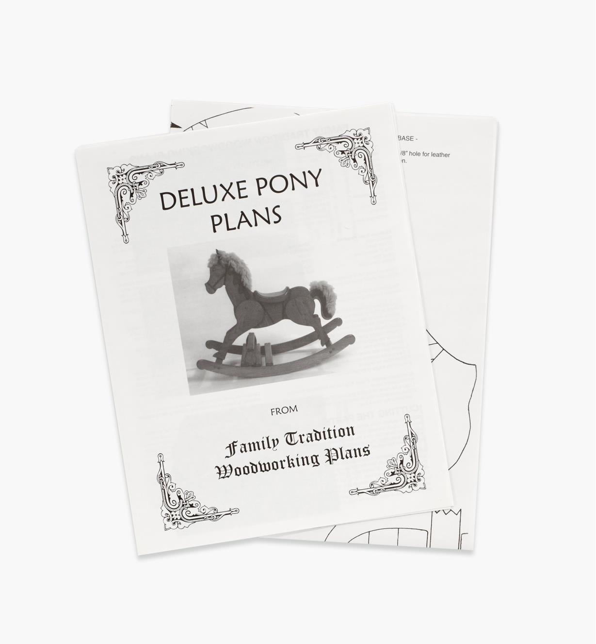 71L9950 - Rocking Horse Plan