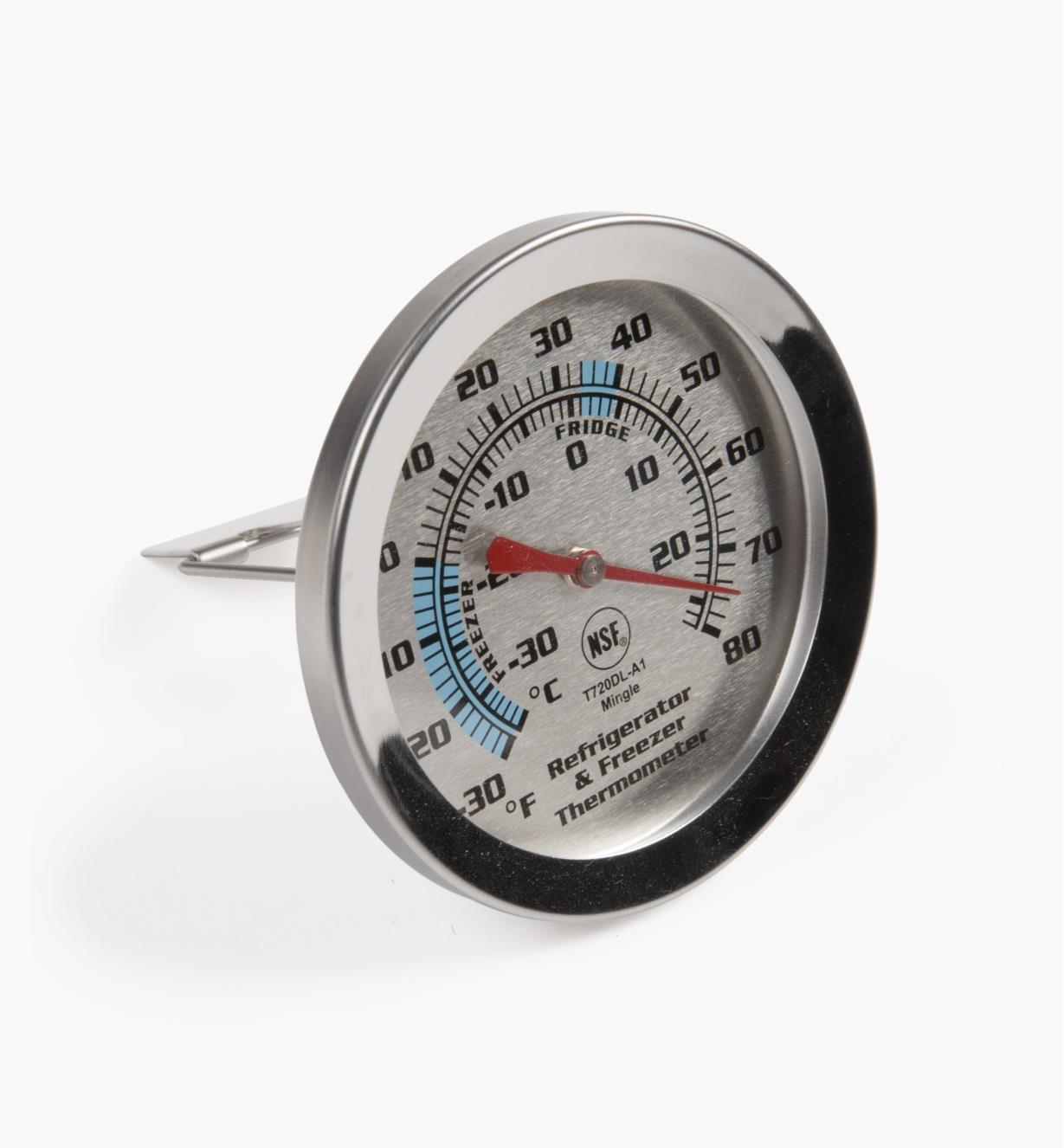 FT124 - Refrigerator/Freezer Thermometer