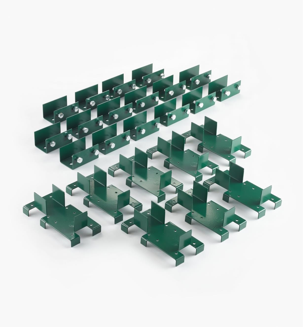XK651 - Jeu de ferrures pour plate-bande surélevée