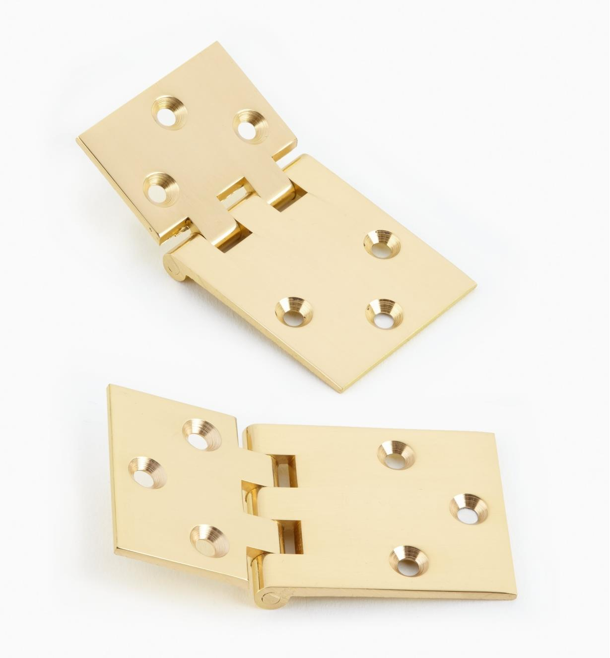 "00D1702 - 1 1/2"" × 2 7/8"" Rule-Joint Hinges, pr."