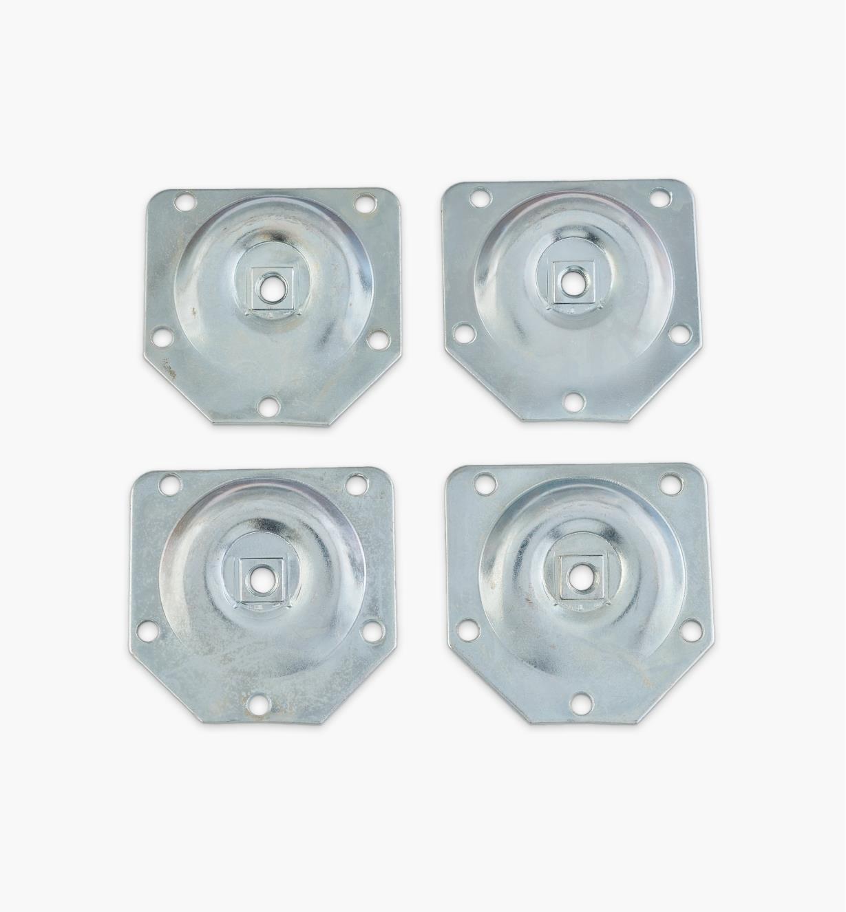 00H3380 - Angled Leg Plates, pkg. of 4