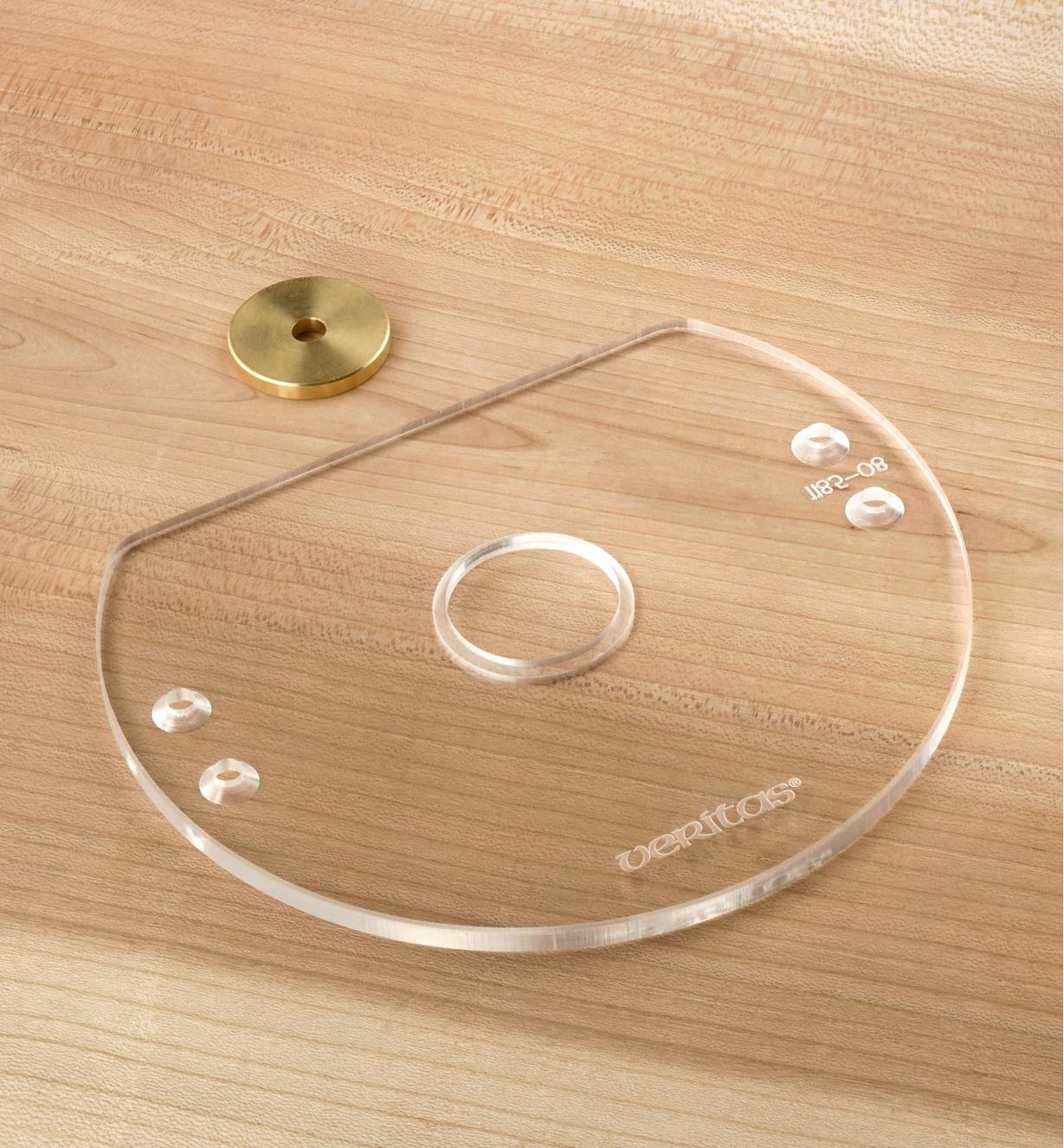 05J6609 - Compact Router Base Plate, Blank