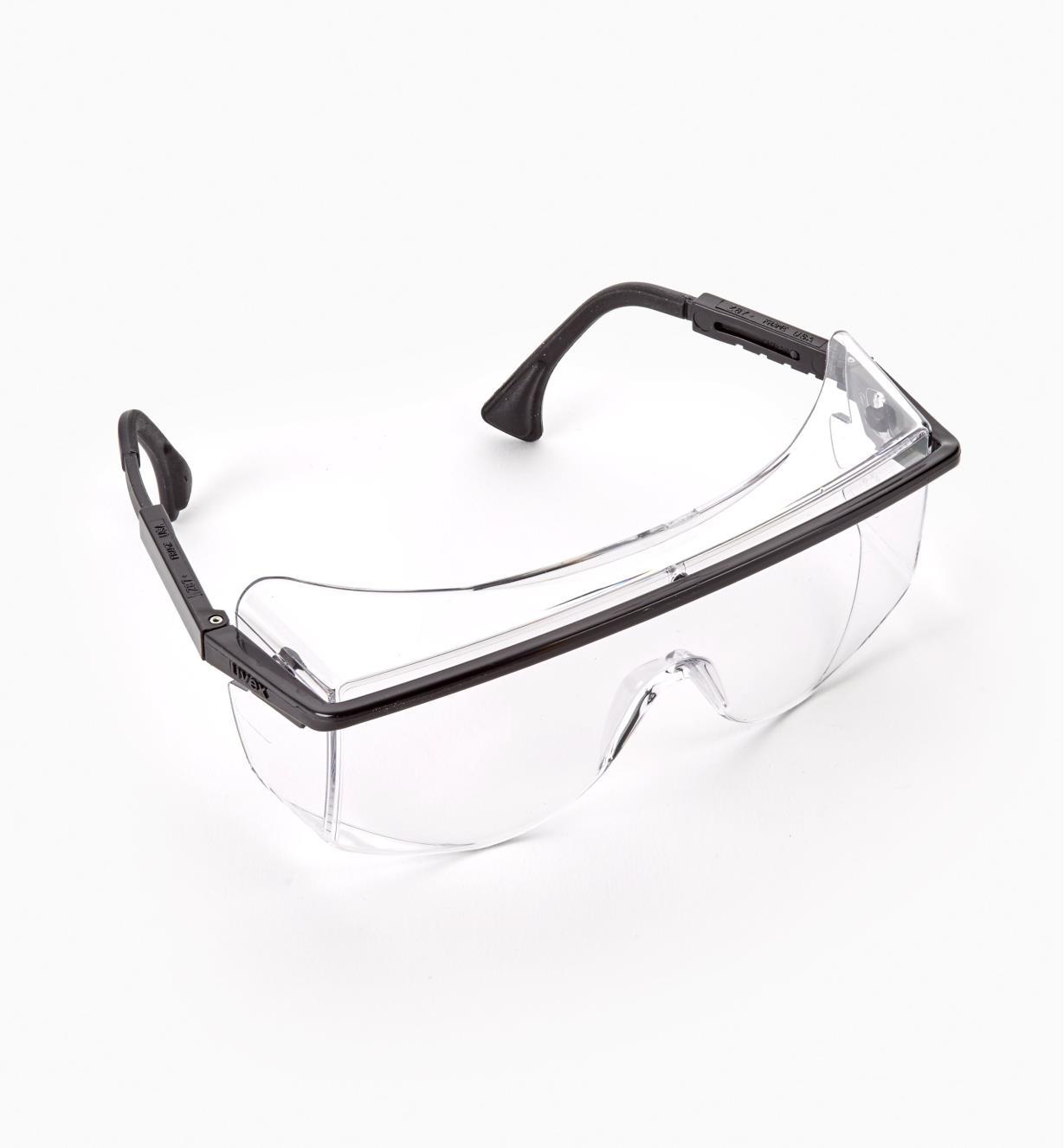22R7201 - Surlunettes de protection, verre incolore