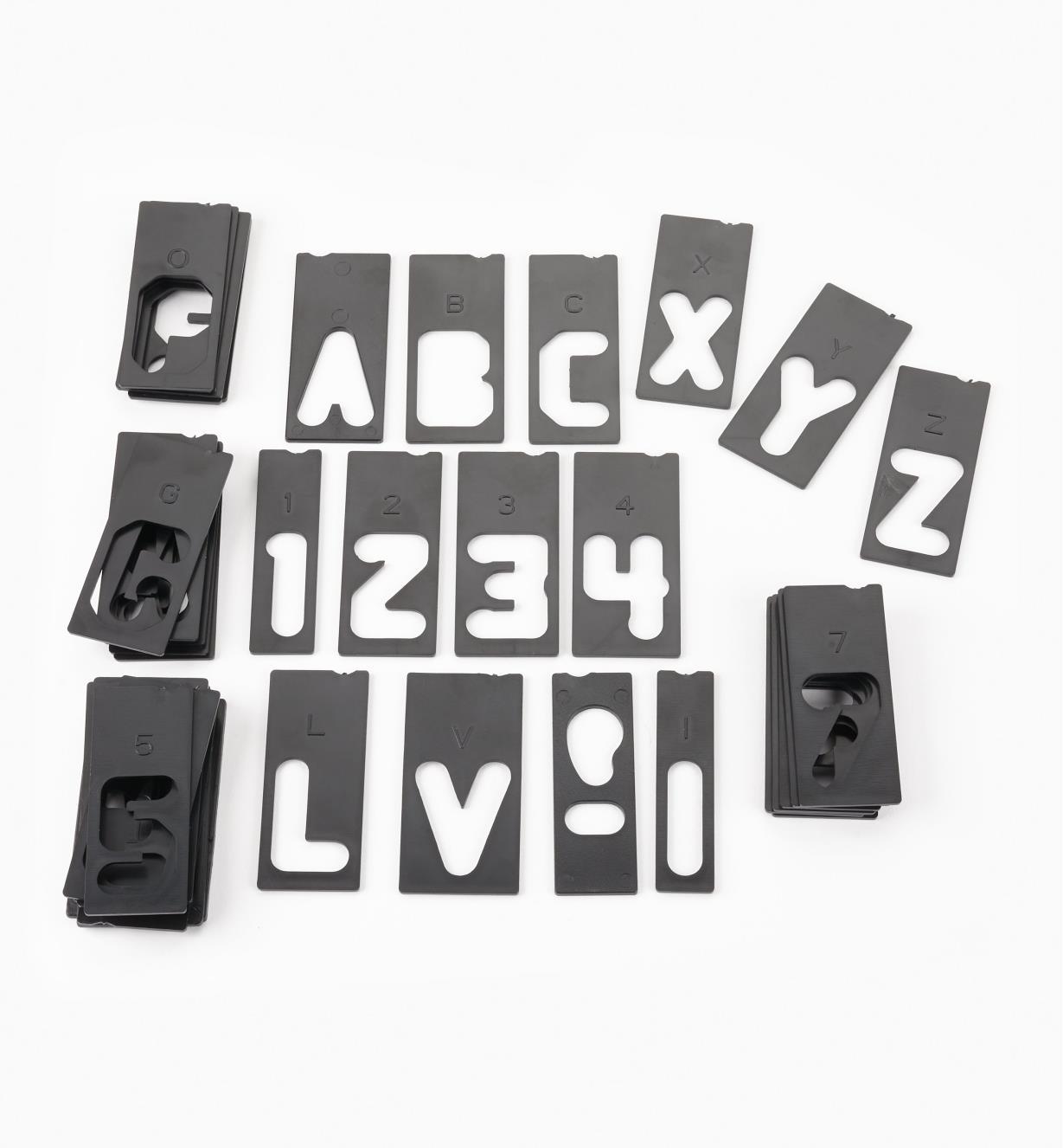 """46J8302 - Extra Letter Set, 1 1/2"""""""