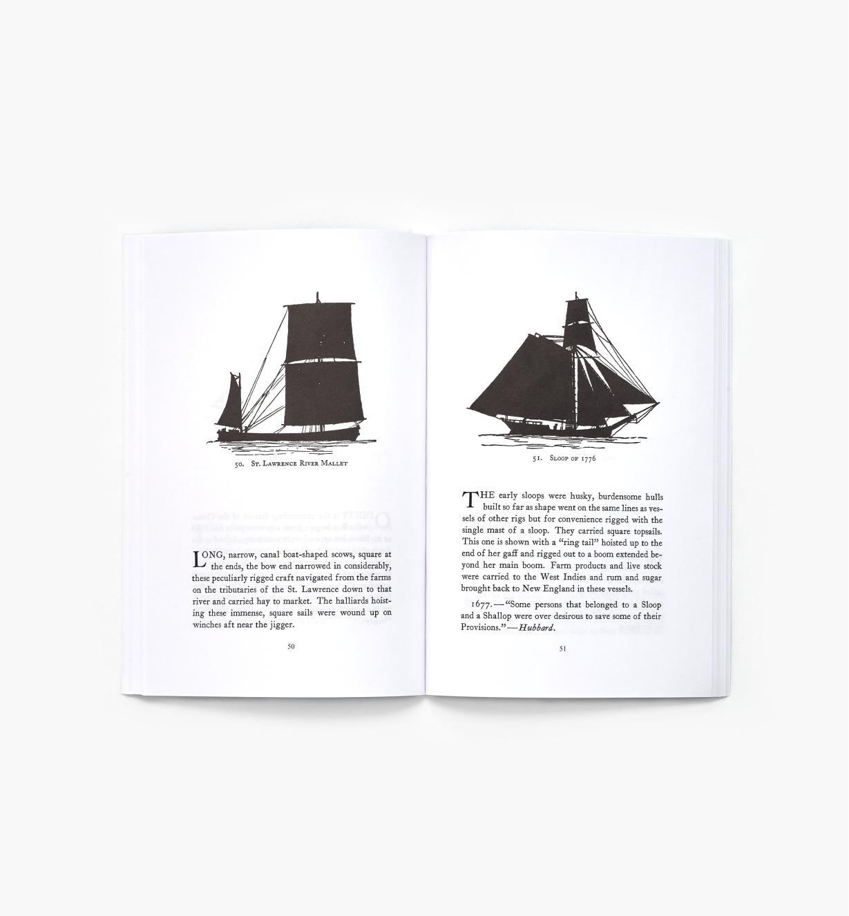 49L8134 - Sailing Vessel Silhouettes