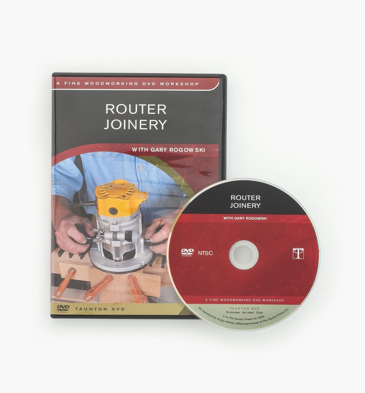 73L1016 - Router Joinery — DVD