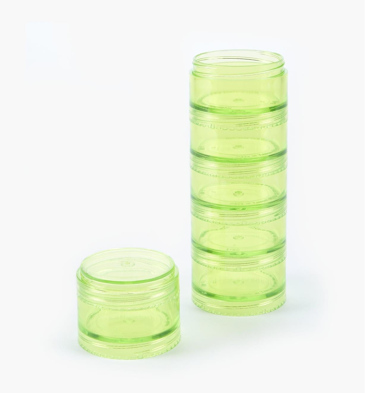 99W0240 - 40mm Jars, stack of 6