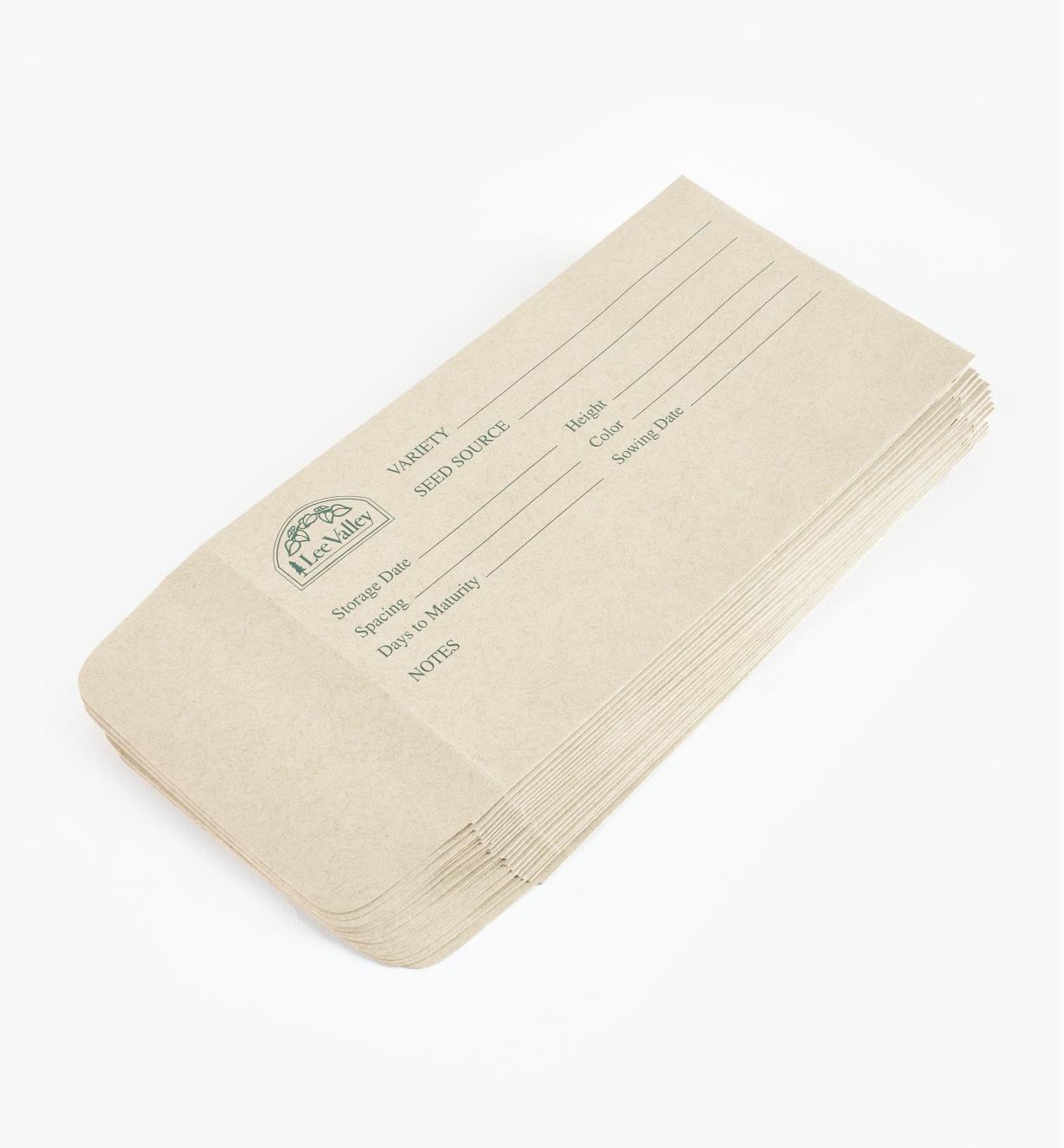 AA721 - Extra Seed Envelopes, 20