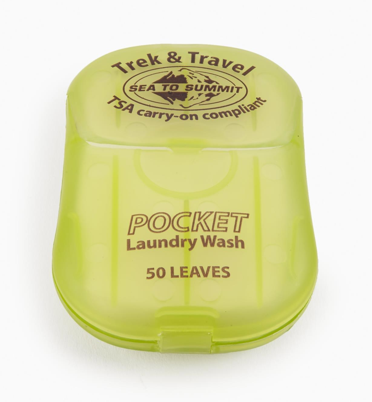 GB372 - Travel Laundry Soap, pkg. of 50