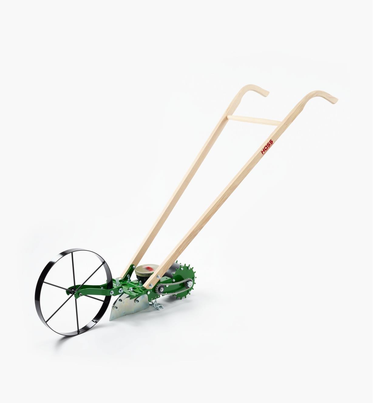 PW120 - Sarcloir à roue et semoir amovible