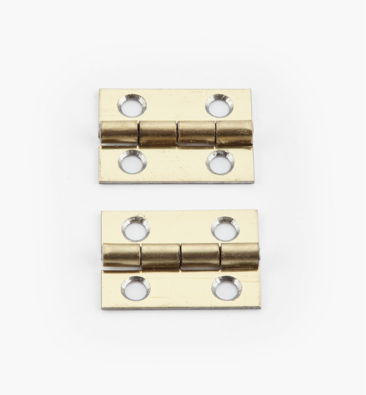 00D3009 - 20mm x 15mm Small Box Hinges, pr.