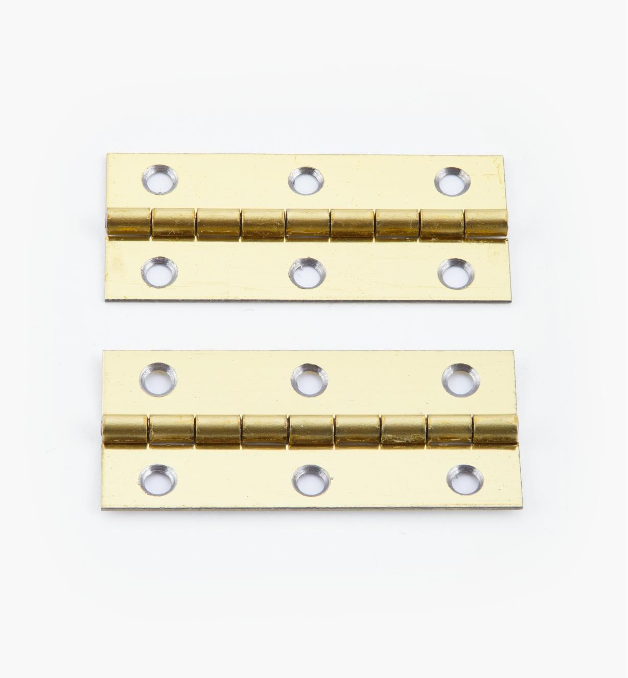 00D3014 - 45mm x 20mm Small Box Hinges, pr.