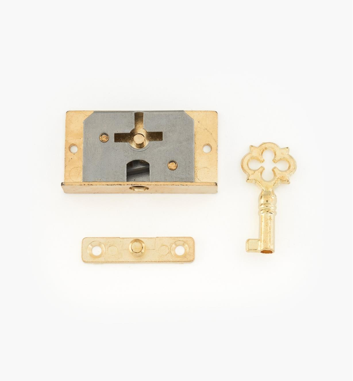 "00N3001 - 1 5/8"" Small Box Lock"