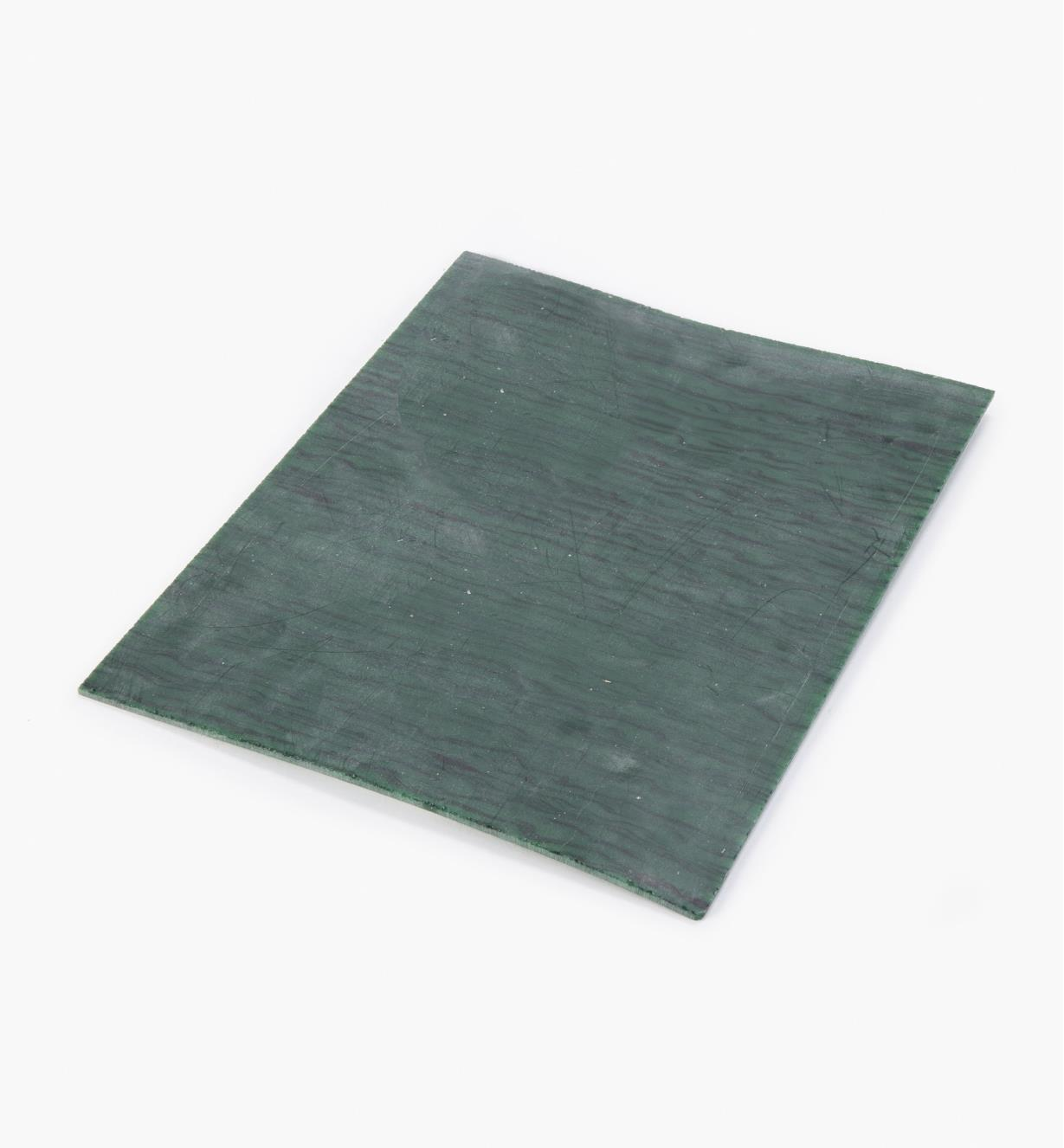 87K2108 - Plaque imitation malachite, 23 cm x 28 cm x 3 mm