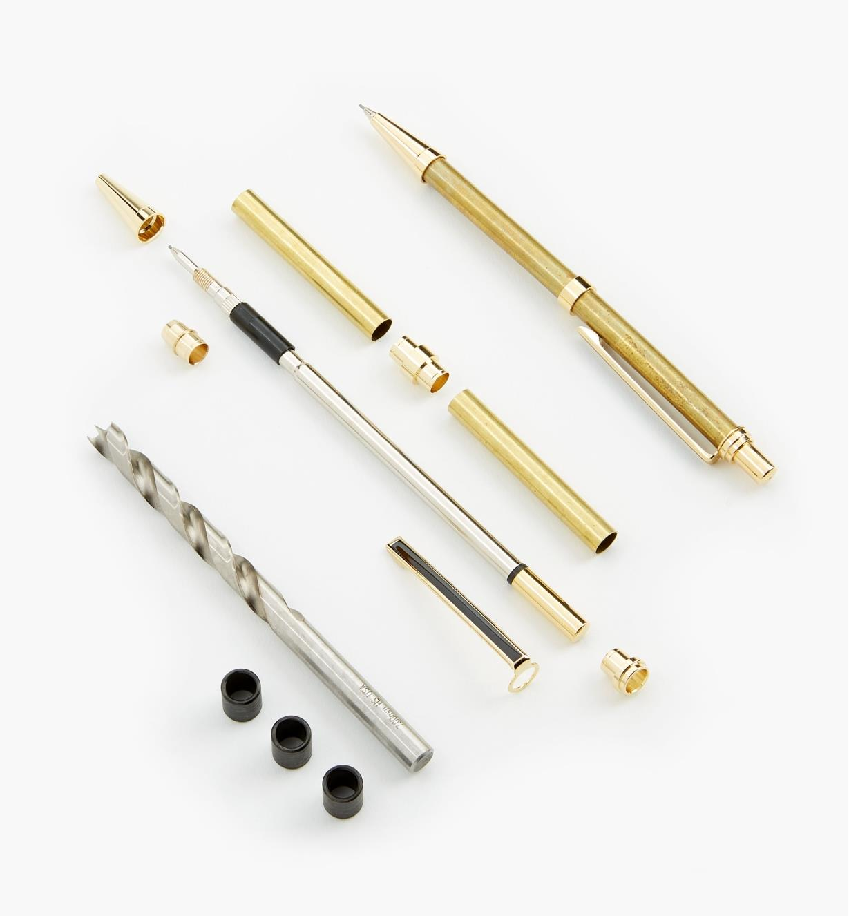 88K7729 - Slim Pencil Starter Kit, Gold