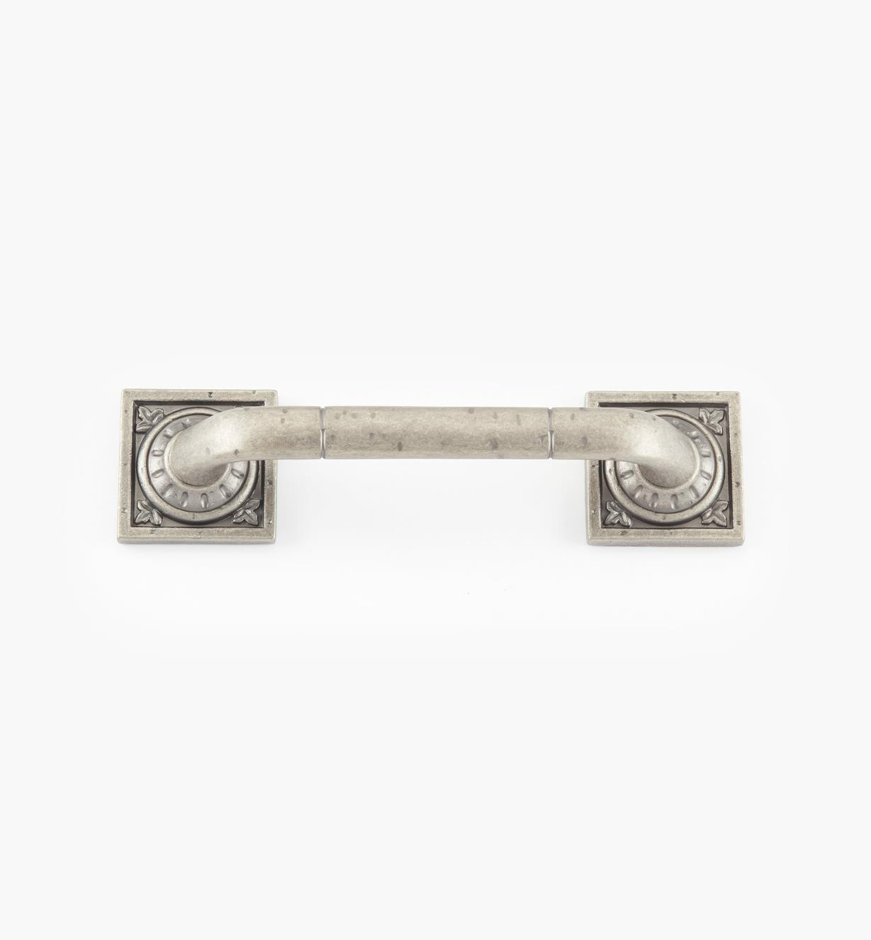 "02A2631 - Ambrosia 5"" Weathered Nickel Square Handle"