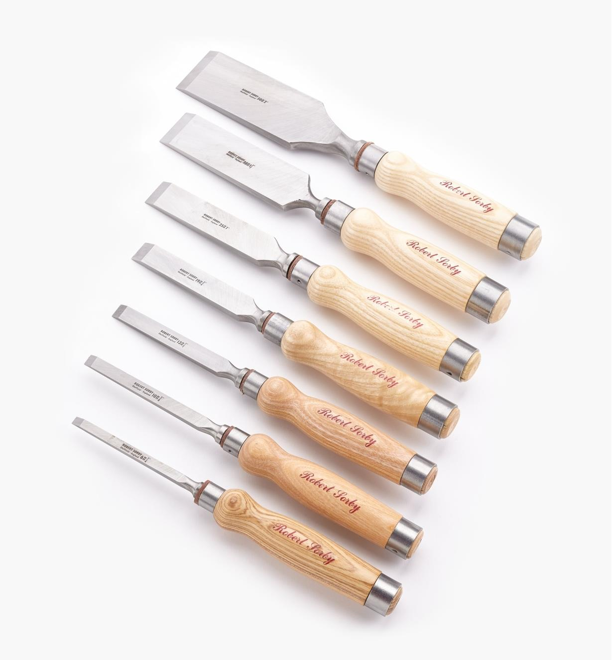 85S0210 - Mortise Chisel Set of 7