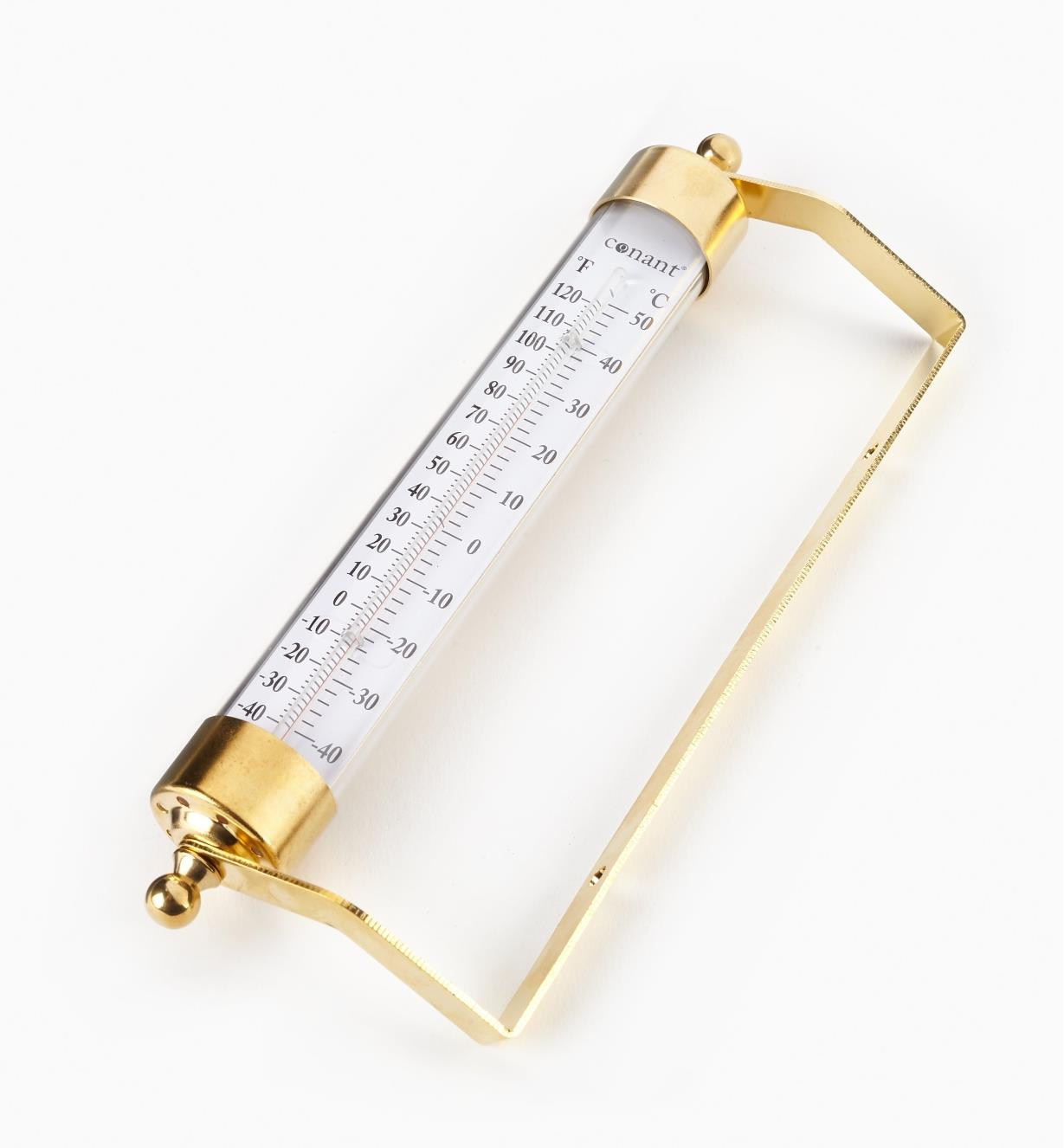 kd211 - Solid Brass Thermometer