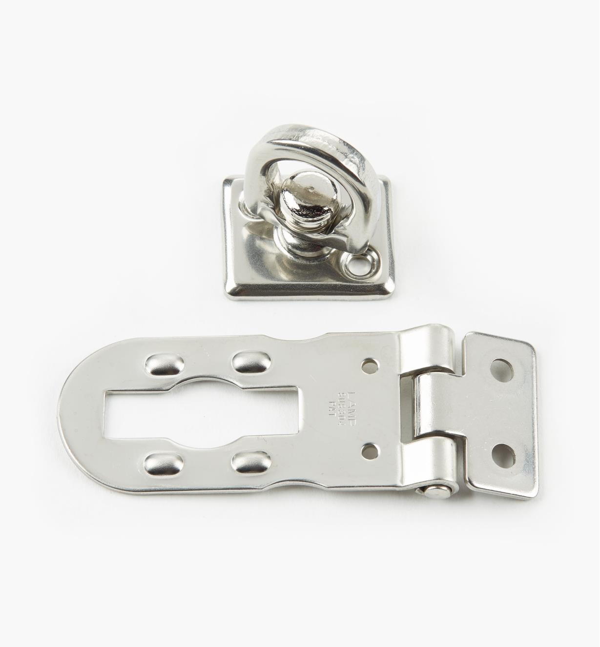 00S3416 - 50mm Stainless-Steel Hasp