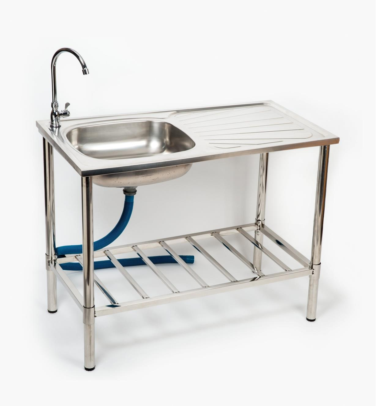 XB206 - Stainless-Steel Outdoor Wash Table