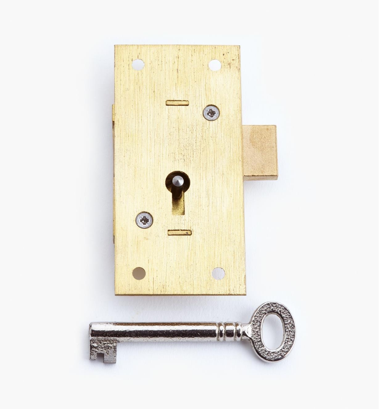 "00P2530 - 3"" Standard Straight Cupboard Lock"