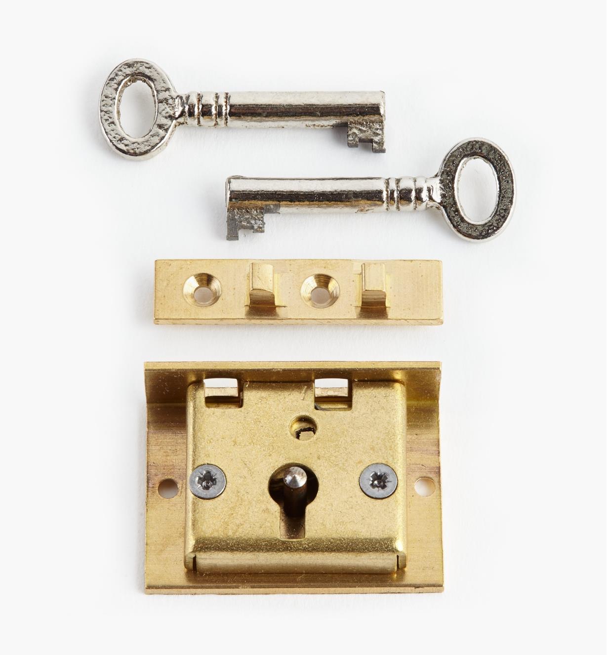 """00P2715 - 1 1/2"""" Standard Box Lock"""