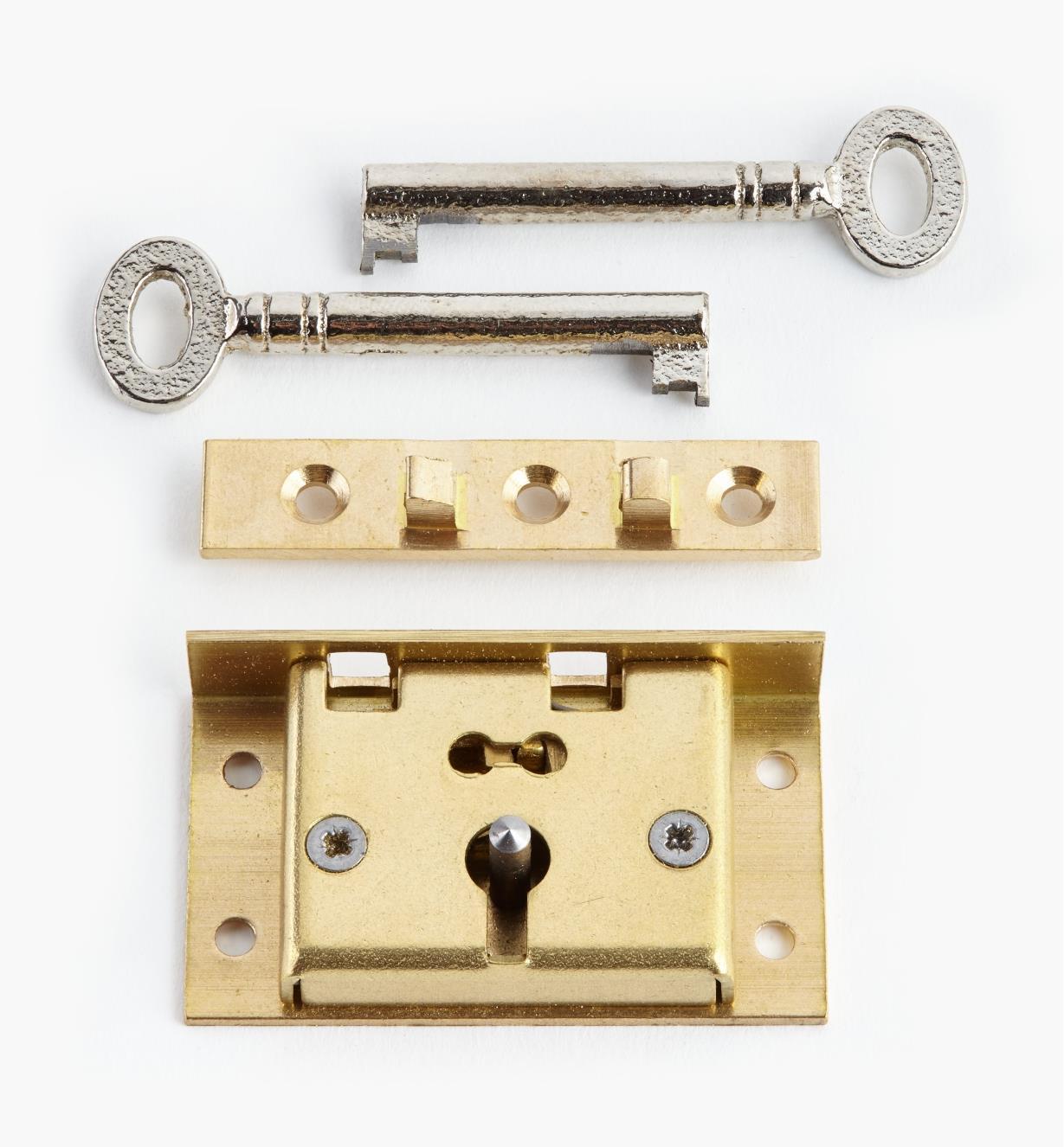 """00P2720 - 2"""" Standard Box Lock"""