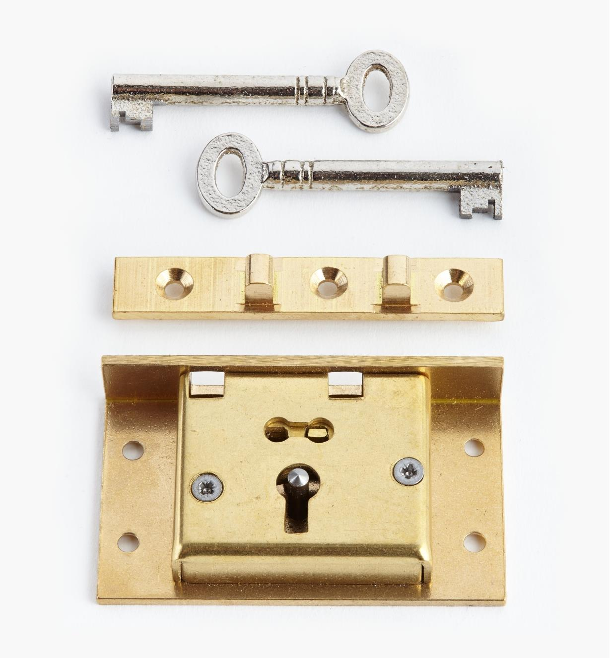"""00P2725 - 2 1/2"""" Standard Box Lock"""