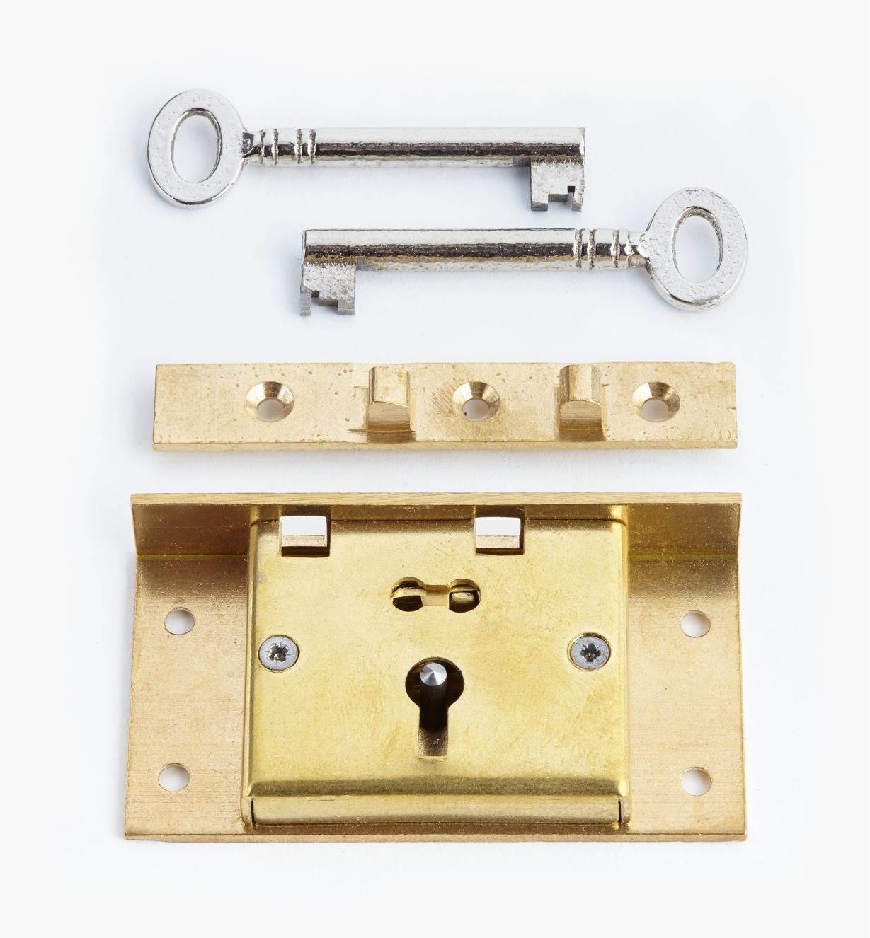 """00P2730 - 3"""" Standard Box Lock"""