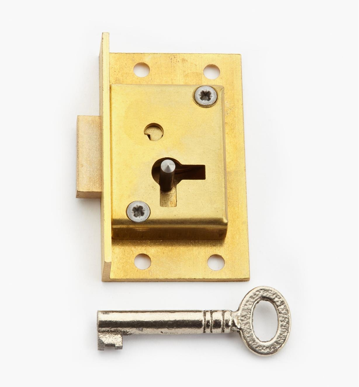 "00P3021 - 2"" Standard Cut Cupboard Lock (L)"