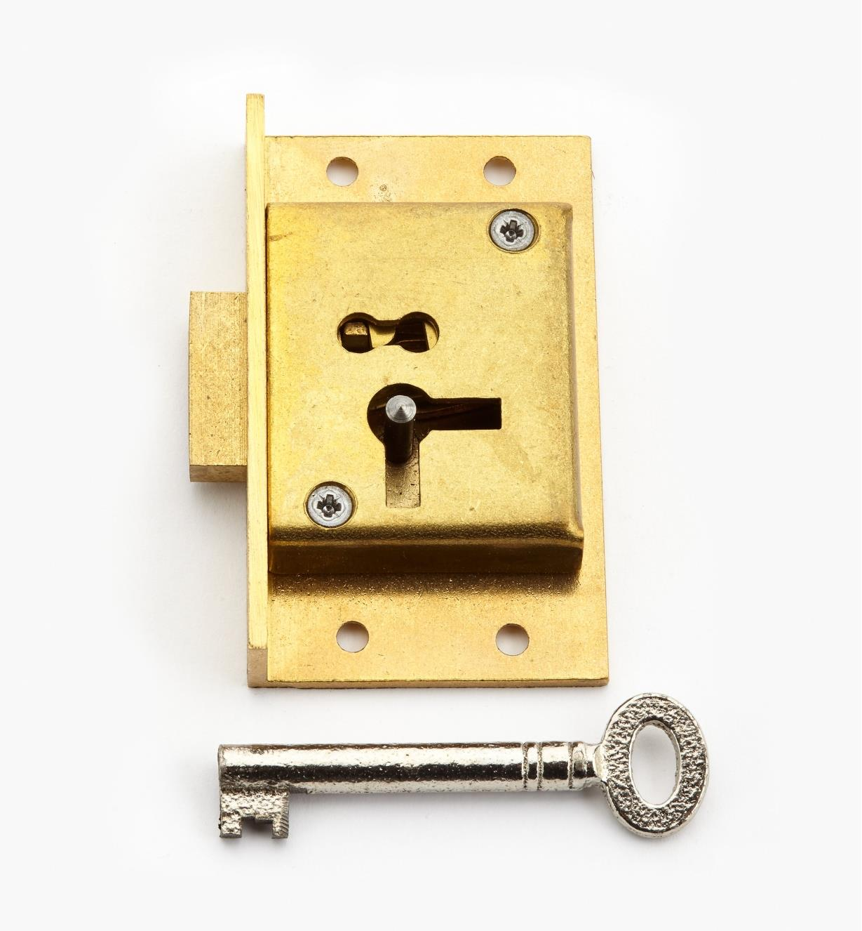 "00P3026 - 2 1/2"" Standard Cut Cupboard Lock (L)"