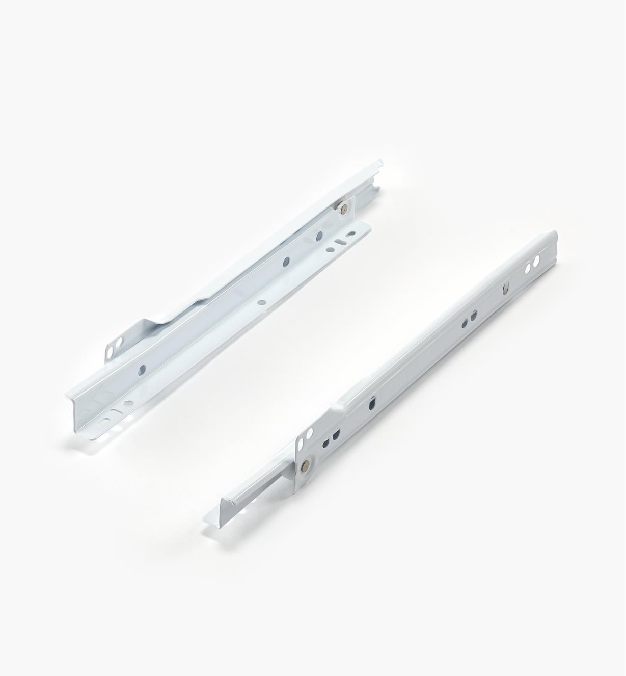 12K0810 - Coulisses standards de 250mm pour meuble de cuisine, la paire