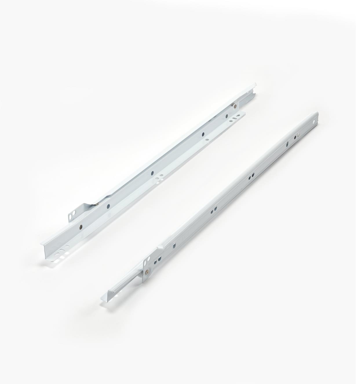 12K0818 - Coulisses standards de 450mm pour meuble de cuisine, la paire
