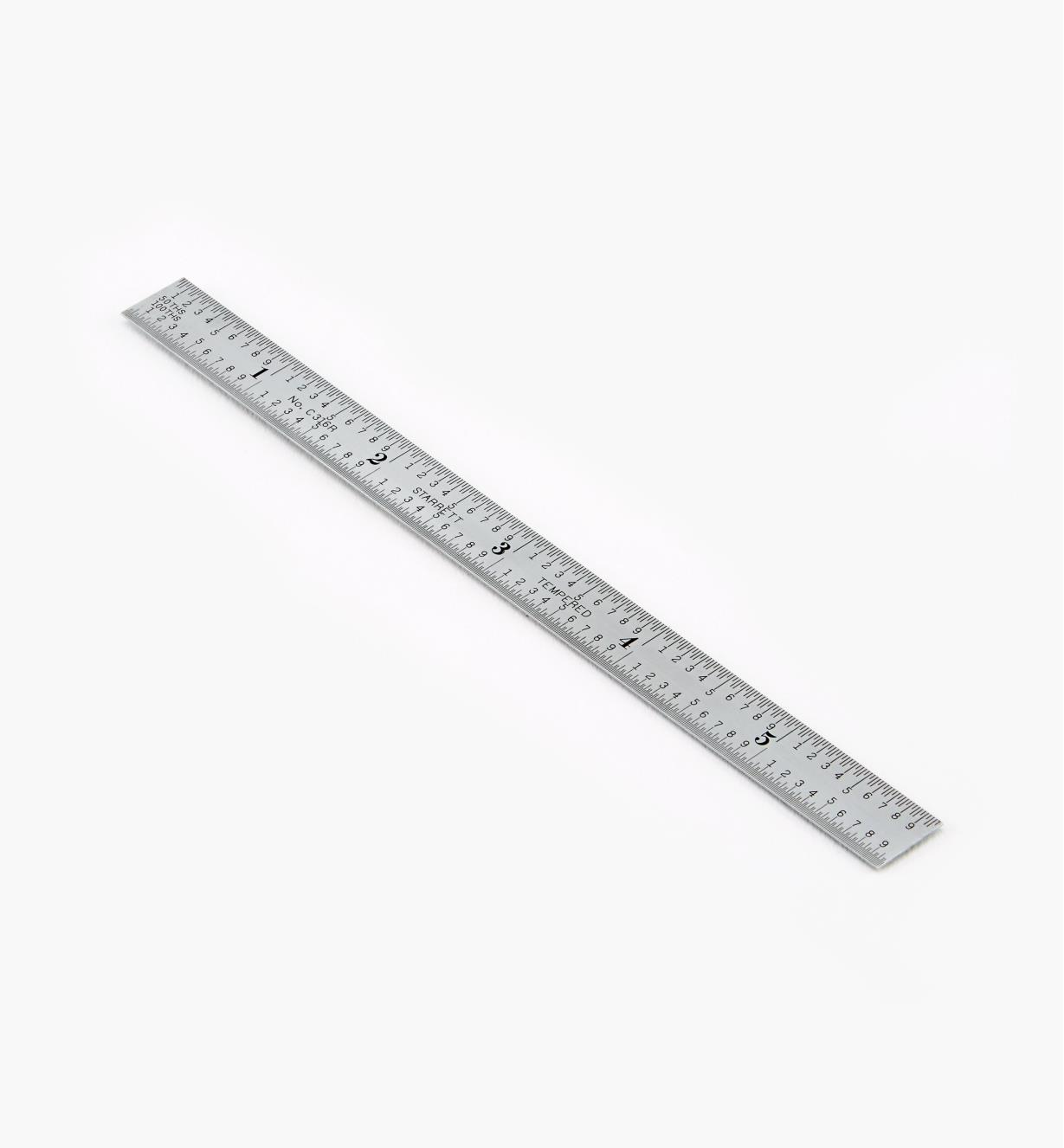 "30N0810 - Starrett 16R Flexible Rule, 6"" x 1/2"""