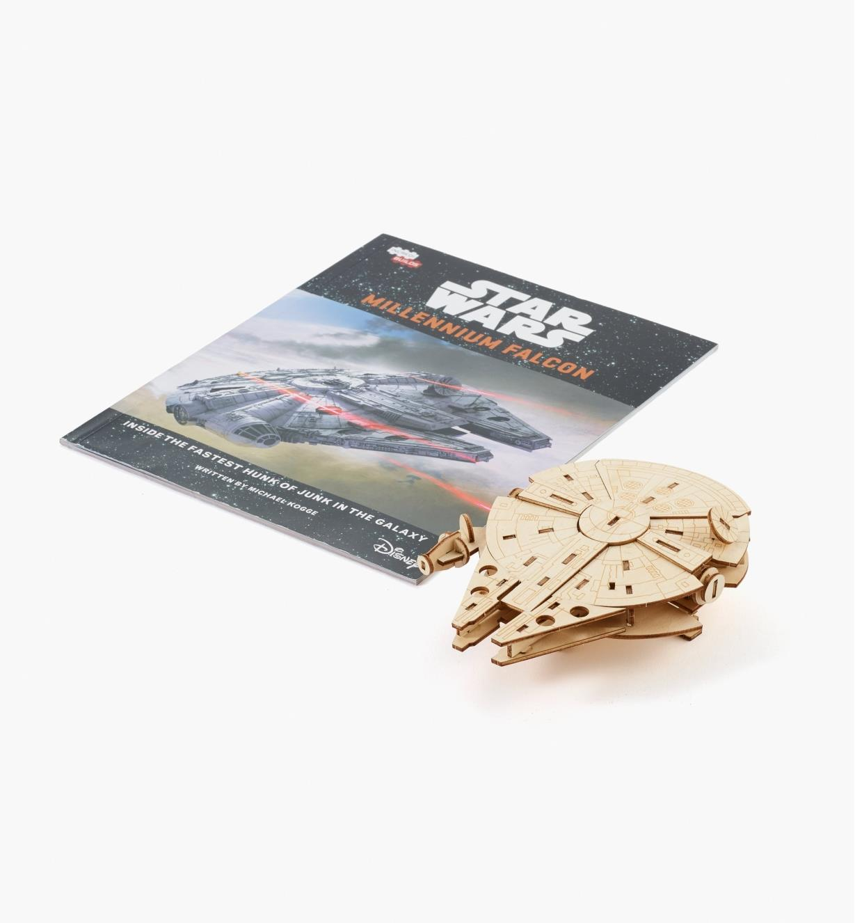 45K5035 - Millennium Falcon Wooden Model Kit