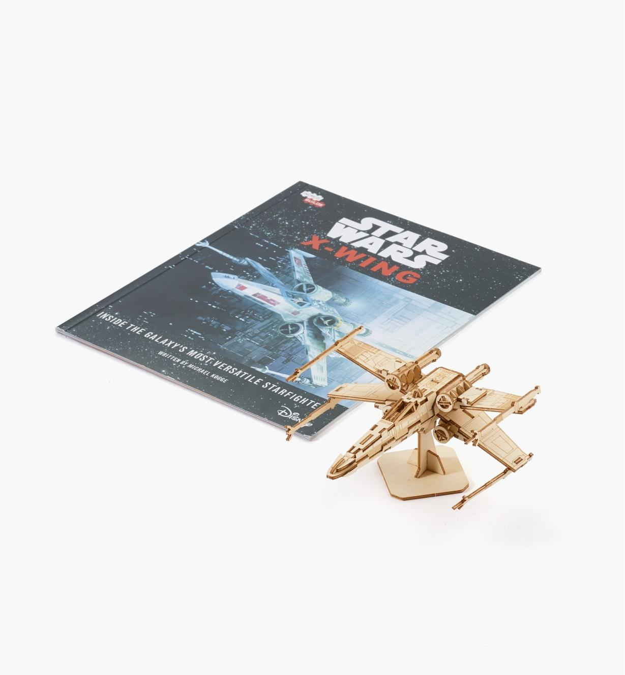 45K5036 - X-Wing Fighter Wooden Model Kit