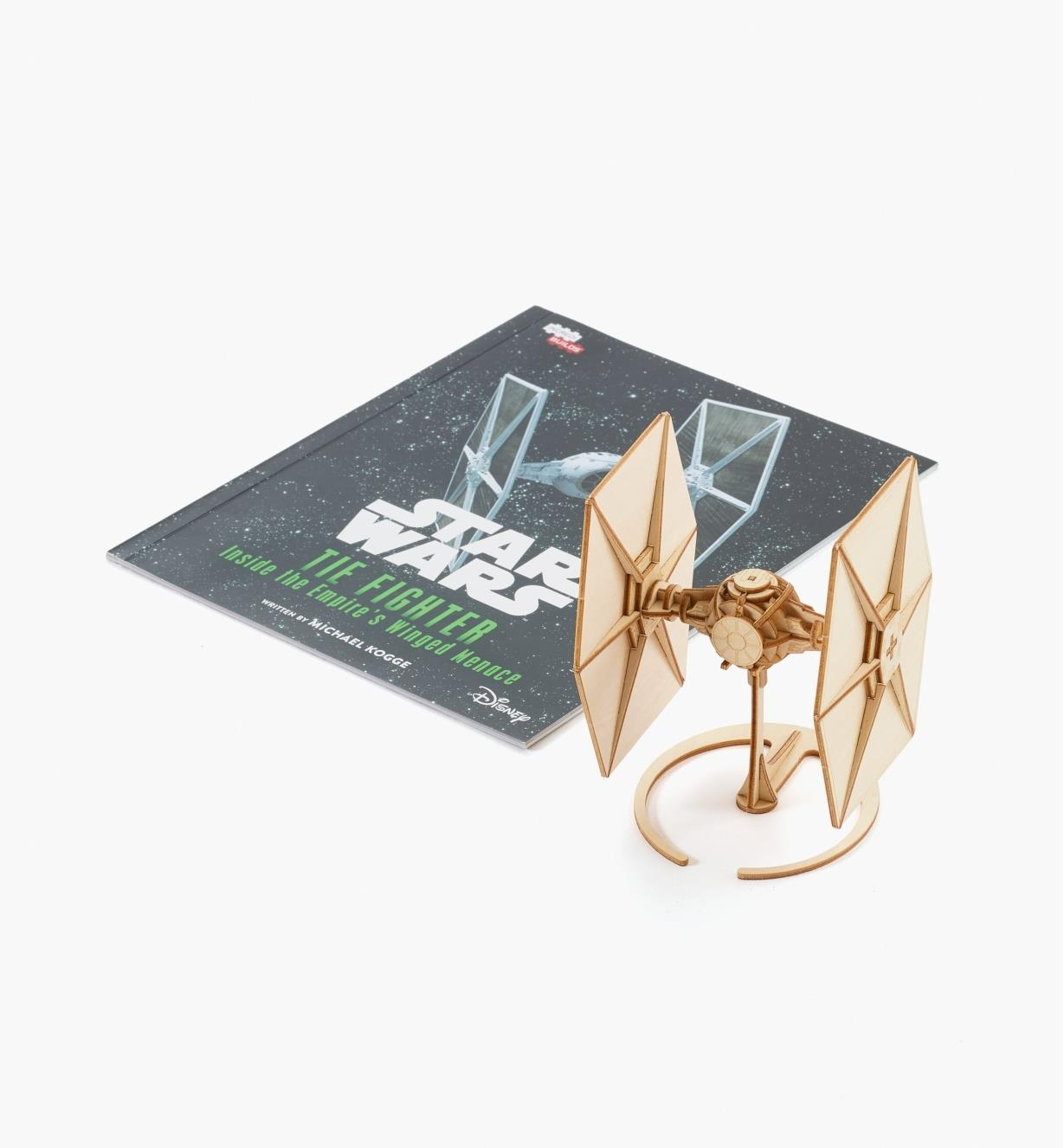 45K5037 - TIE Fighter Wooden Model Kit