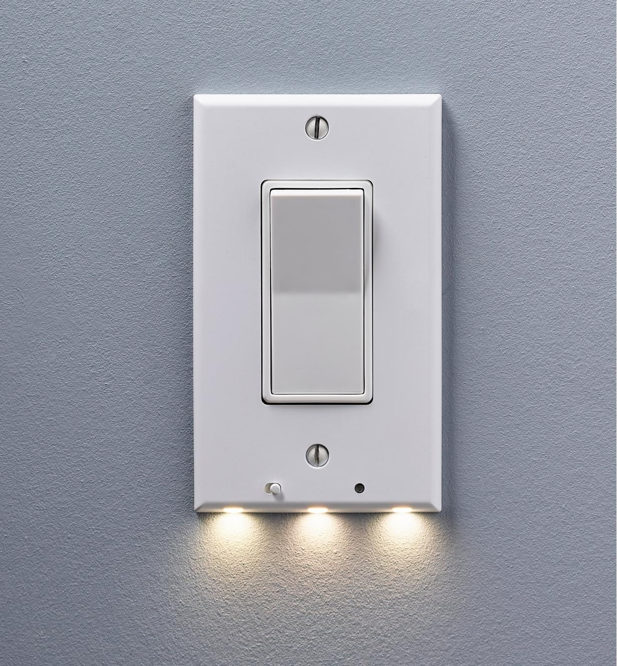 99W0273 - LED Rocker Switch Cover Plate