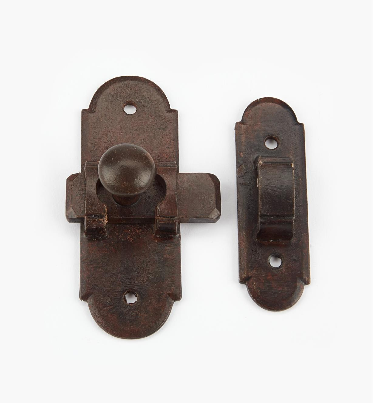 00L0910 - Small Steel Sliding Latch