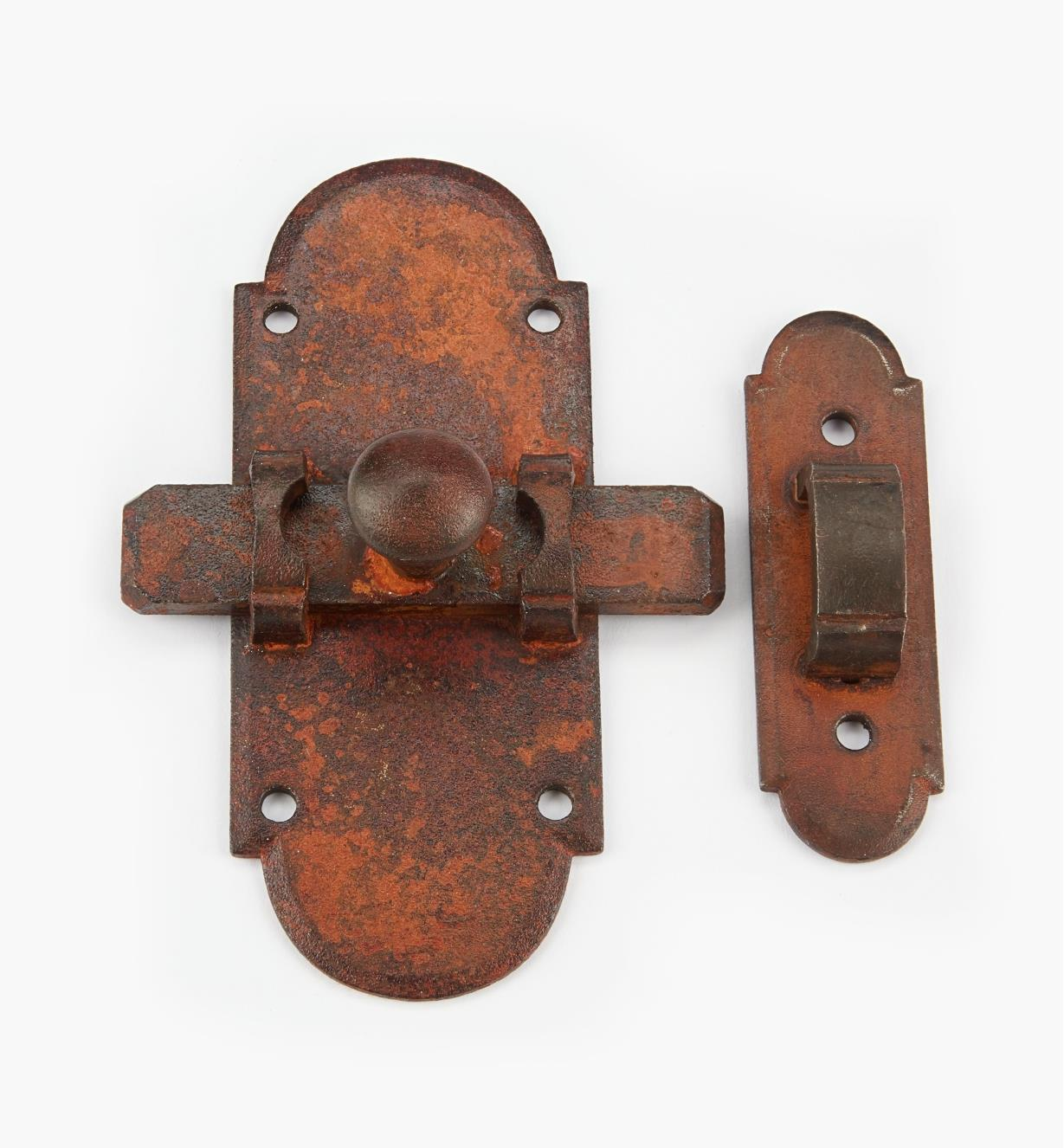 00L0920 - Large Steel Sliding Latch