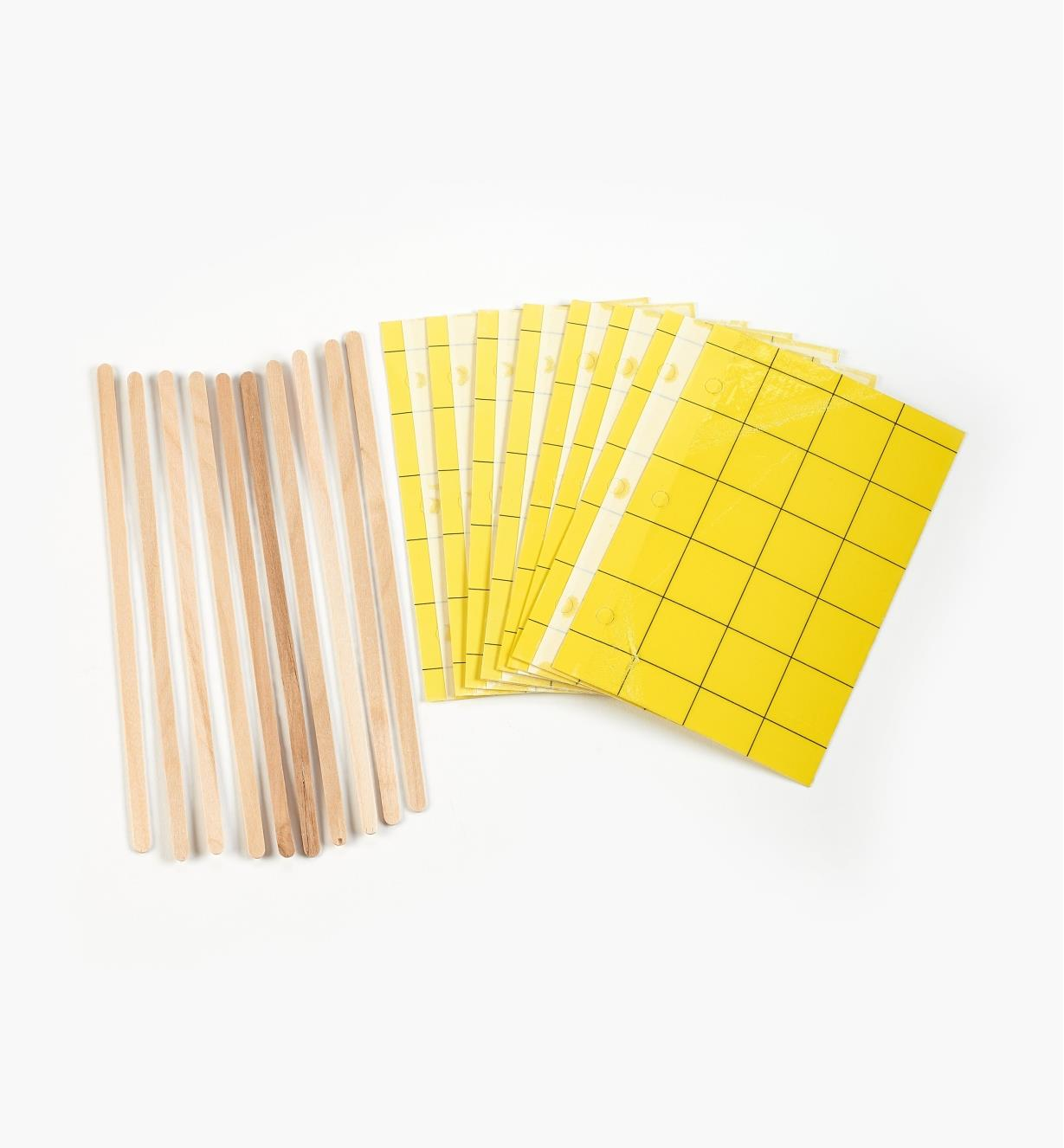 AB717 - Yellow Sticky Traps, pkg. of 10