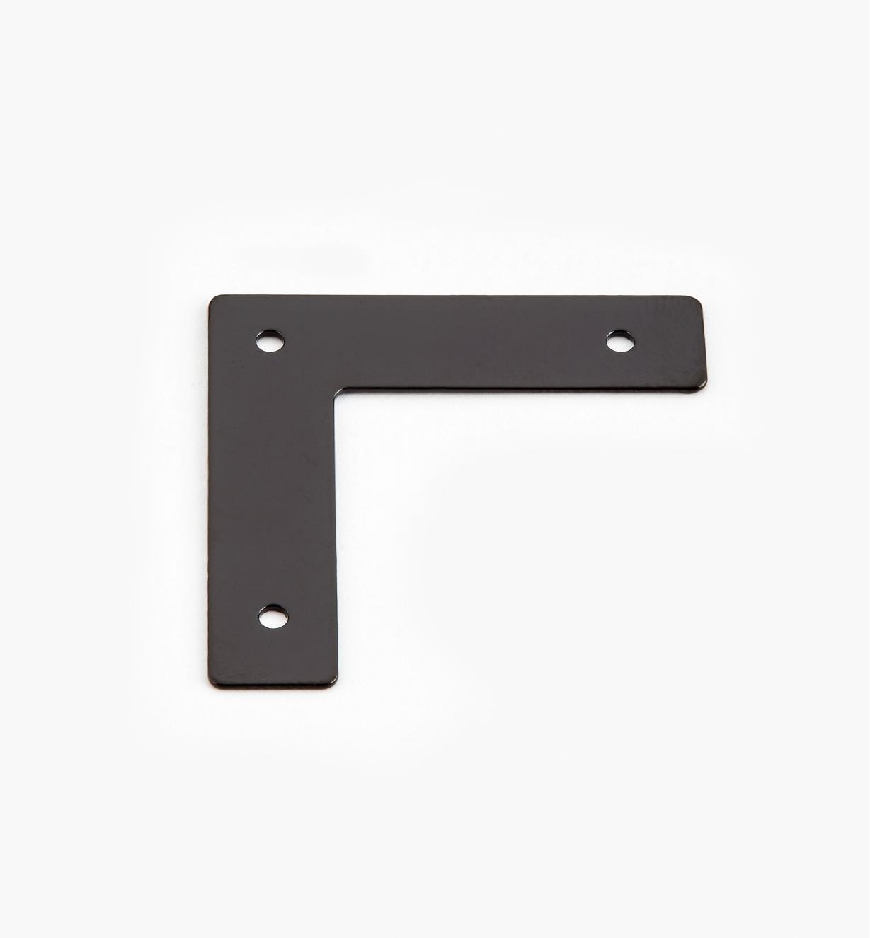 00D5501 - Équerres plates de 32 mm x 32 mm (8 mm), quincaillerie Tansu unie, le paquet de 12