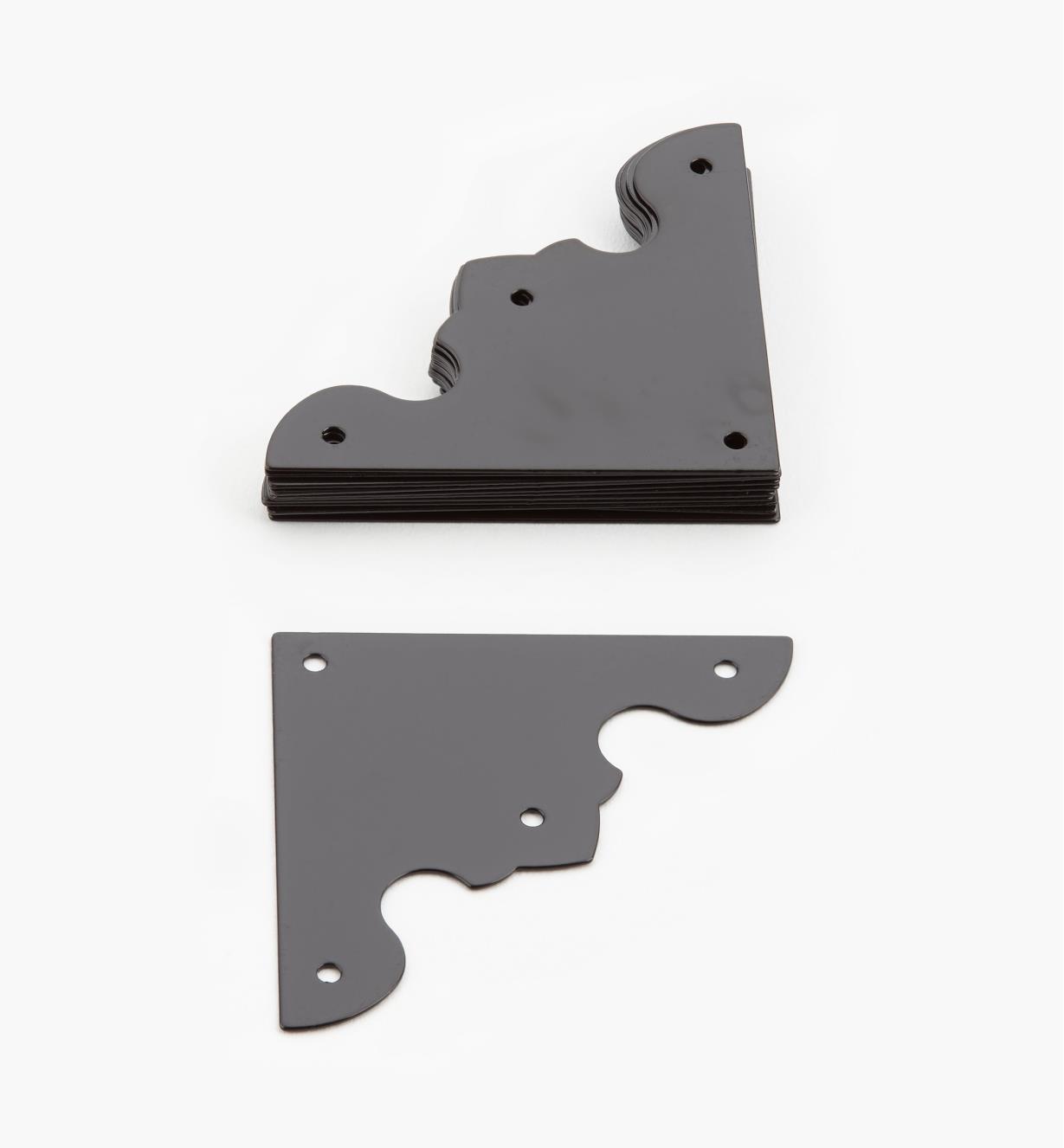 00D5512 - 41mm Corner Plates, pkg. of 12